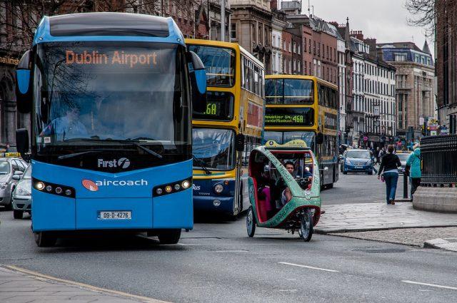 وسائل التنقل في ايرلندا