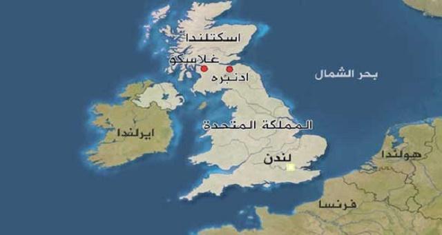 اين تقع اسكتلندا