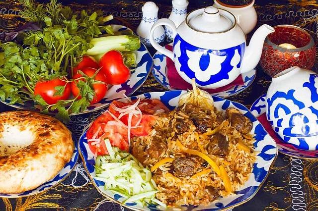 الطعام والمشروبات في اوزباكستان