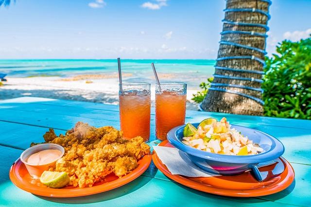 الطعام والمشروبات في جزر البهاما