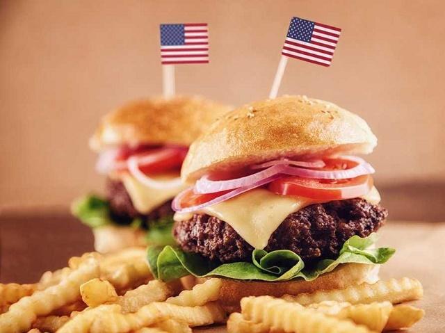 الطعام في امريكا