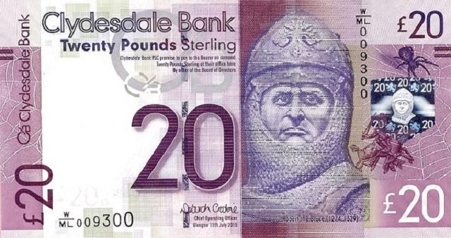 العملة الرسمية في اسكتلندا