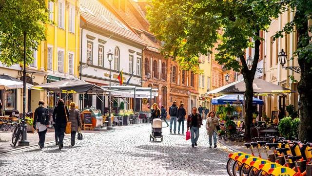 افضل وقت للسفر الى ليتوانيا