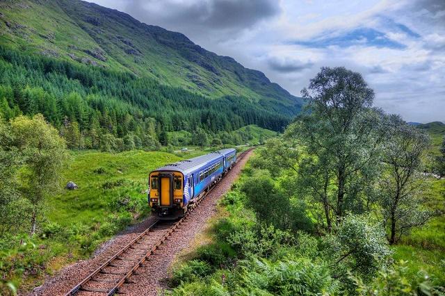المواصلات في اسكتلندا