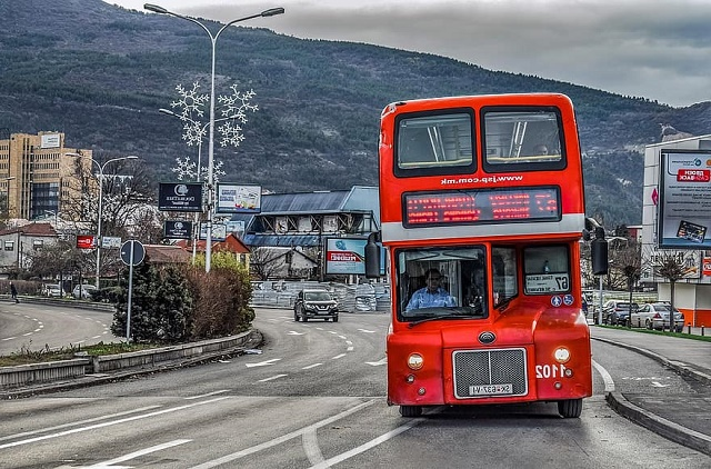 المواصلات في مقدونيا