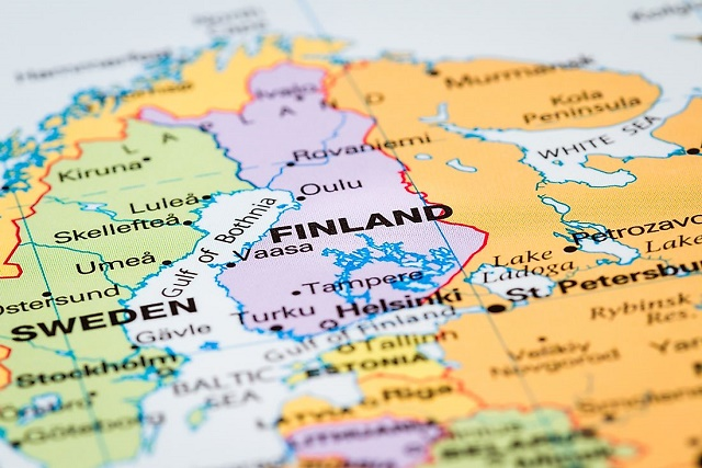 اين تقع فنلندا