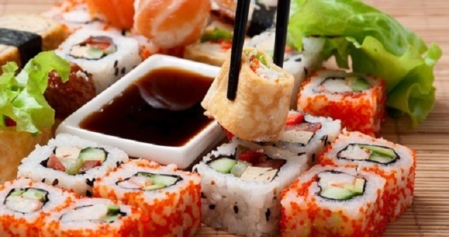 الطعام في اليابان