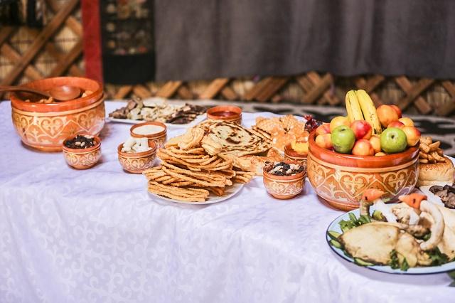 الطعام والمشروبات في قرغيزستان