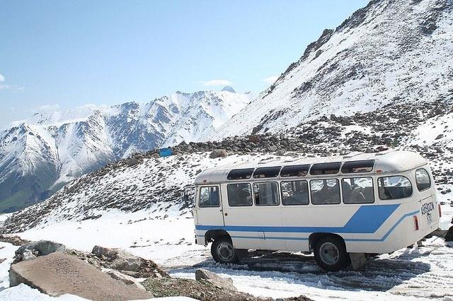 المواصلات والتنقل في قرغيزستان